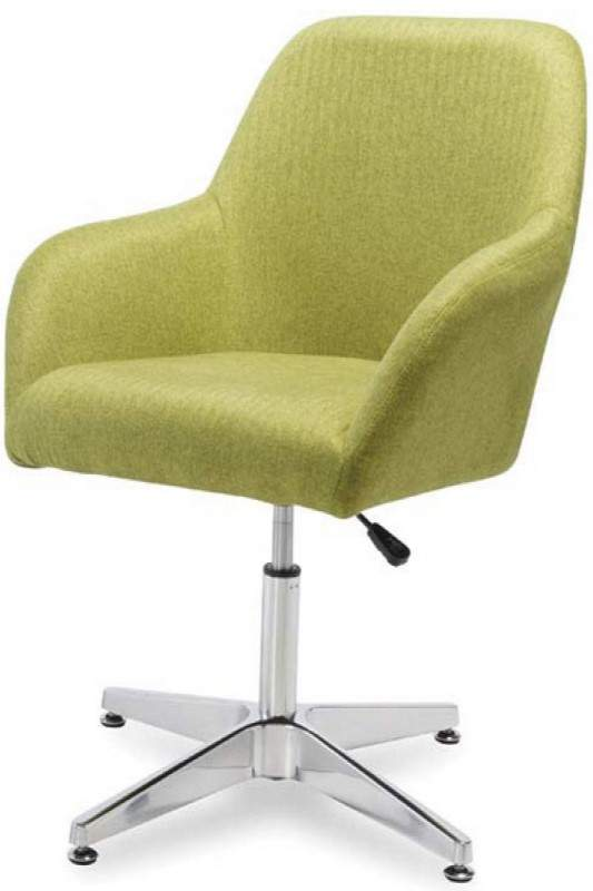Green Chair with Swivel Base