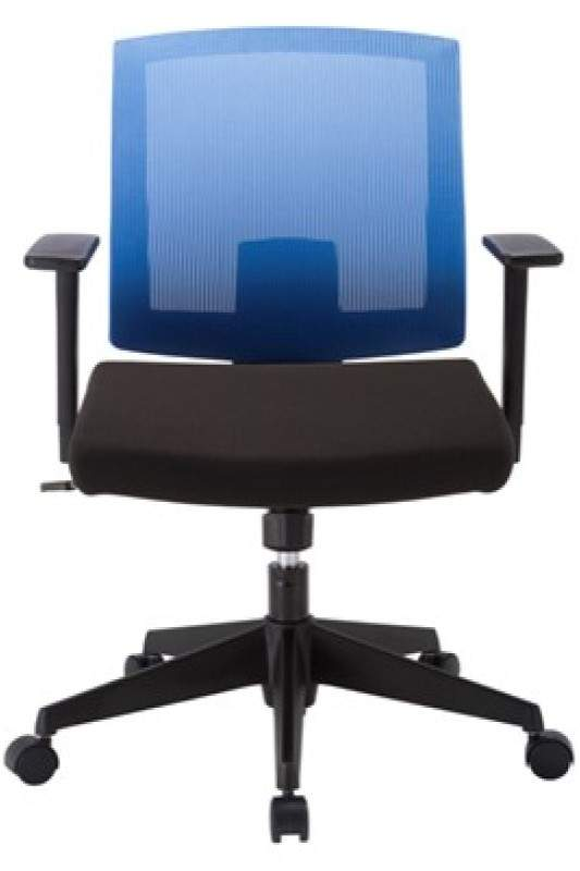 Desk Chair with Blue Back