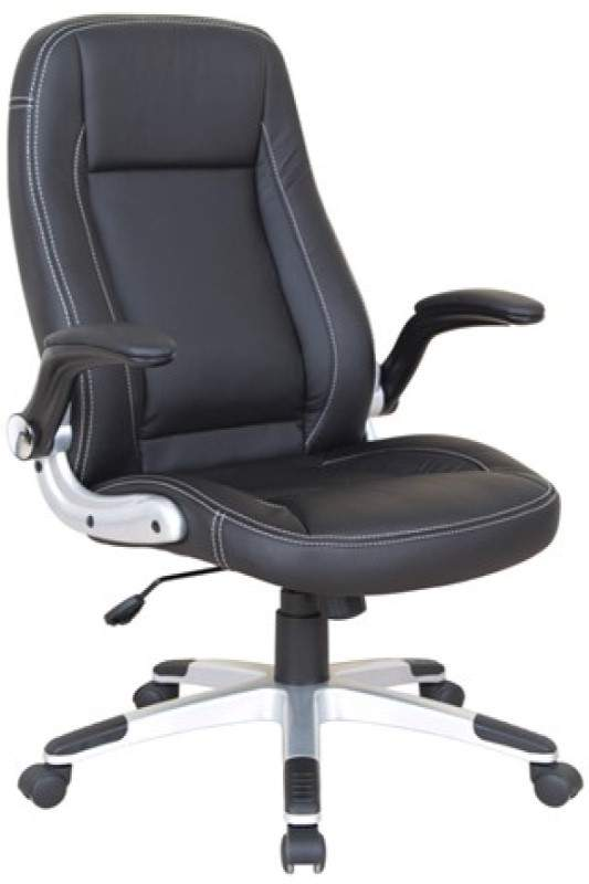 Padded Black Computer Chair